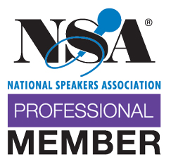 National Speakers Association - Professional Member logo